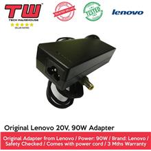 ORIGINAL Lenovo 20V (Yellow-Tip) 90W Laptop Adapter (REFURBISHED)
