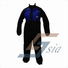 X-Dot RC08 Rider Raincoat (Blue)