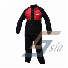 X-Dot RC08 Rider Raincoat (Red)