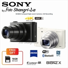 Sony WX800 DSC-WX800 Digital Compact High zoom Camera 18.2MP 4K Video Recordin