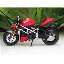Maisto 1/12 Diecast Motorcycle DucatiMod Streetfighter S RED