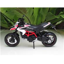 Maisto 1/12 Diecast Motorcycle DucatiHypermotard SP 2013