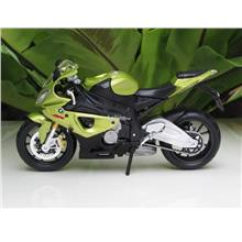 Maisto 1/12 Diecast Motorcycle BMW S1000RR (Green/Black)