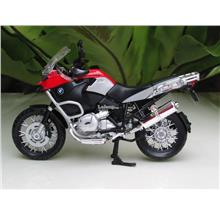 Maisto 1/12 Diecast Motorcycle BMW R1200GS RED/BLACK