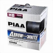 PIAA ARROW STAR WHITE 4250K Halogen Bulb H-616 (HB)