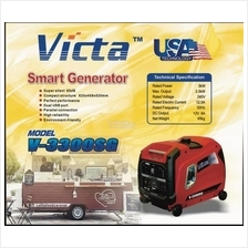 Victa 3.3kW Portable Silent Smart Inverter Gasoline Generator