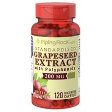 Standardized Grapeseed Extract with Polyphenols, 200mg, 120 caps (USA)