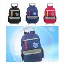 Swan Comfort Roll Basic Trolley School Bag Backpack Lightweight