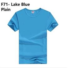 Korean plain cloth clothing baju kurung melayu guy men t shirt blue