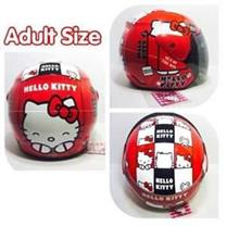 CELLY Adult Helmets Hello Kitty For Ladies (RED)