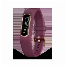 GARMIN VIVOSMART 4 MERLOT SPORT WATCH WRISTBAND (010-01995-81) **R.GOLD**
