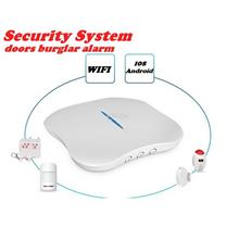 Burglar Alarm Security System-WiFi /PSTN/ Telephone/ / IOS /Android/