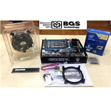 INTEL X79-B75 LGA 2011 motherboard With 6 core E5-2640+8Gb Ram