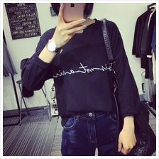 CASUAL TOP BLACK WT6776