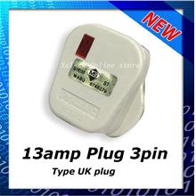 13AMP PLUG 3PIN UK with Light