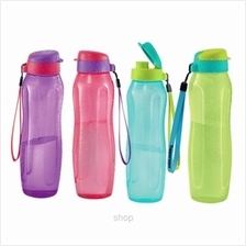 Tupperware Slim Eco Bottle with Strap (4pcs) 1L - 11137394+11137395)