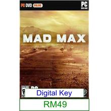 PC Mad Max ★Brand New★
