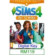 PC The Sims 4 Get To Work ★Brand New★