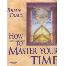 How to Master Your Time by Brian Tracy : 12 mp3 Audiobooks in CD