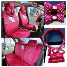 Kitty short staple cotton 4-5 seat Car Seat