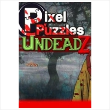Pixel Puzzles: UndeadZ Steam Key GLOBAL