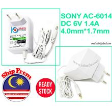 SONY 6V DC 1.4A AC-6014 Power adapter Can use for Blood pressure Meter JPN2 HE