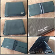**Incendeo** - Authentic BRAUN BUFFEL Germany Leather Wallet