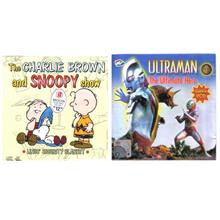 2 VCDs Ultraman + Snoopy (New) Buy or Barter available