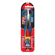 COLGATE Toothbrush 360 Charcoal 2s)