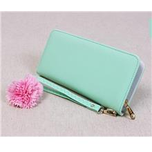 Candy Color Ladies Leather Purse