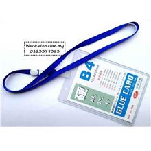 Custom made Hard Exhibition Card Cover with Lanyard Pre Order
