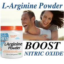L-Arginine Powder 300g, Nitric Oxide,  Lower Blood Sugar, Vegetarian