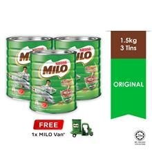 NESTLE MILO ACTIV-GO POWDER 1.5kg , Buy 3 Free 1 Milo Van)