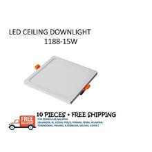 LED PANEL DOWNLIGHT S1188 15W - 10 PIECES + FREE SHIPPING