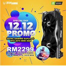 # ZOTAC GAMING GeForce RTX 2070 MINI # 12/12 PROMOTION