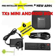 TX3 MINI ( ANDROID BOX 3000++ CHANNELS)