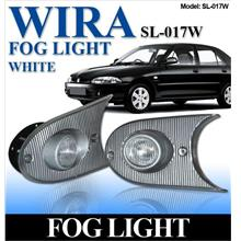 WIRA Front Bumper Projector Crystal White Fog Light Per Pair [SL-017W]