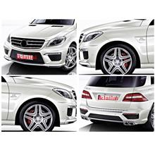 MER-BENZ M-Class W166 '12 ML63 Look Wide Body Body Kit [Bumper+Fender]