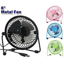 8 Inch Mini Usb Metal Fan Super Cooling/Extra Strong Wind