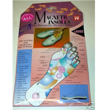 1 pc  LADIES THERAPEUTIC MAGNETIC HEALTH CARE INSOLES