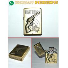 LIGHTER ZIPPO (GOLD) UTK DILELONG MURAH 20