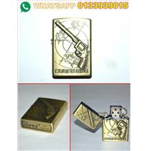 LIGHTER ZIPPO (GOLD) UTK DILELONG MURAH 21