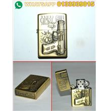 LIGHTER ZIPPO (GOLD) UTK DILELONG MURAH 22