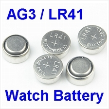 AG3 LR41 1.5V Alkaline Battery Coin Button Cell Watch Battery