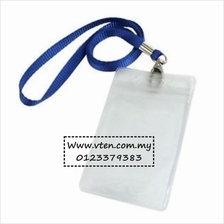 Customized Soft PVC Card Holder Cover with Lanyard Pre Order