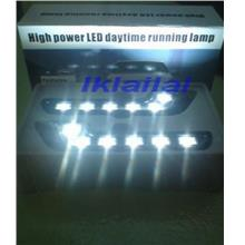 High Power Super White 6 LED Daytime Running Lamp [R8 Look]