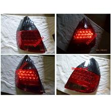 DEPO Honda Jazz / Fit '02-07 LED Tail Lamp Smoke/Red