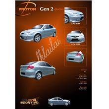 Proton Gen2 Full Set Body Kits [Sportivo Style] Free Reverse Camera