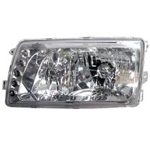 Mercedes Benz W126 `79-93 HEAD LAMP CRYSTAL W/ VACUUM + LED