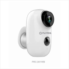 NUVEQ HD1080P Smart Security Camera with Audio (PRC-301WB)